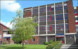 Hameldon Community College - The buildings of the former Ivy Bank Business and Enterprise College