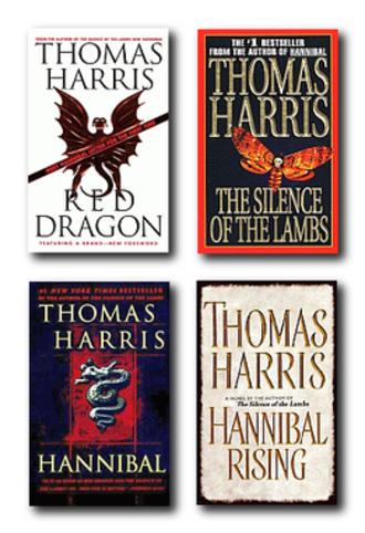 Hannibal Lecter (franchise) - The Hannibal Lecter series of novels