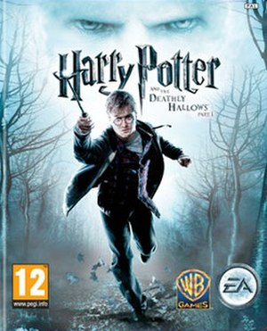 Harry Potter and the Deathly Hallows – Part 1 (video game) - Cover art