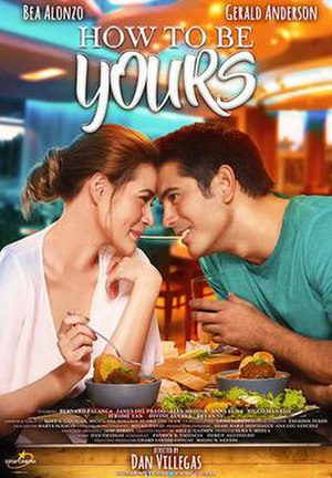 How to Be Yours - Theatrical release poster