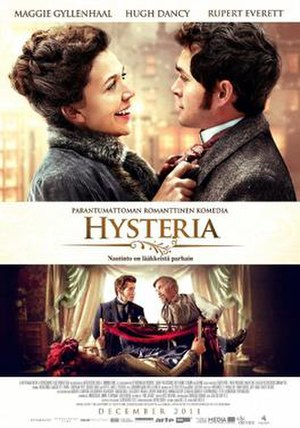 Hysteria (2011 film) - Theatrical poster