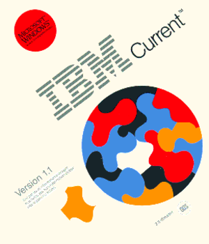 IBM Current - Image: IBM Current 1.1 package cover