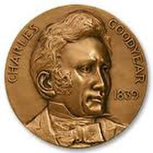 Charles Goodyear Medal - Image: Image of the Charles Goodyear medal