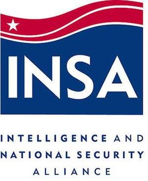 Intelligence and National Security Alliance - INSA logo.
