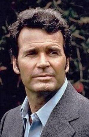 """Jim Rockford (television character) - Image: James Garner as """"Jim Rockford"""""""