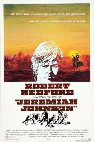 Jeremiah Johnson (film) - Theatrical release poster