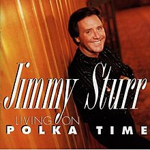 Jimmy Sturr, Living on Polka Time.jpg