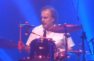 John Coghlan (drummer) - Coghlan in 2013, performing with Status Quo in Manchester
