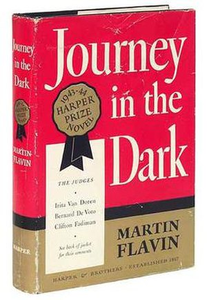 Journey in the Dark - First edition cover  (Harper & Brothers)
