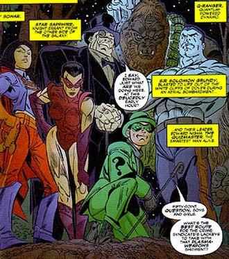 Secret Society of Super Villains - Image: Justice Underground 01