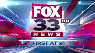 KMSS-TV - Fox 33 News current 9:00 p.m. news open, used since February 2, 2015.