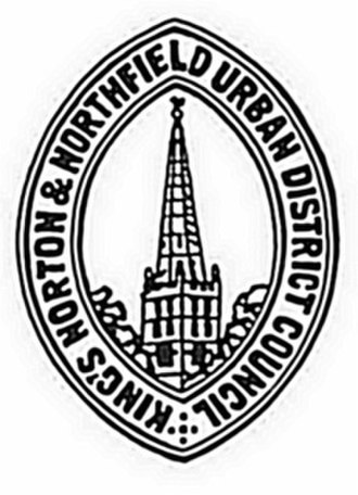 King's Norton and Northfield Urban District - Seal of the King's Norton and Northfield Urban District Council