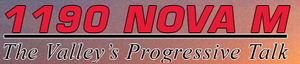 KNUV - 1190 KNUV Nova M logo used from January 1, 2009 - March 5, 2009