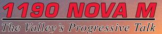 KNUV - 1190 KNUV Nova M logo used from January 1, 2009 - March 5, 2009