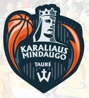2016 Karaliaus Mindaugo taurė - Image: Karaliaus Mindaugo taure logo