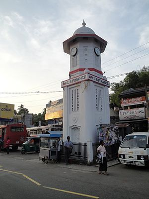 Kegalle - Kegalle Clock Tower