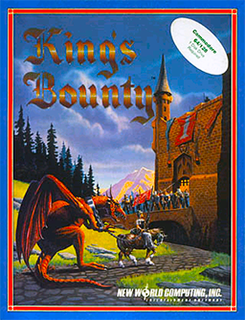 <i>Kings Bounty</i> turn-based fantasy computer and video game