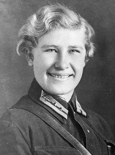 Klavdiya Nechaeva Soviet fighter pilot during World War II.