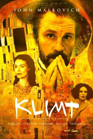 Klimt (film) - Image: Klimt film poster