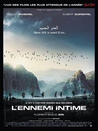 Intimate Enemies (2007 film) - Film poster