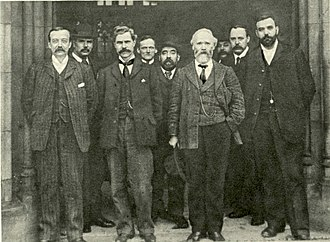 Arthur Henderson - Henderson (on left) in 1906, with other leading figures in the party