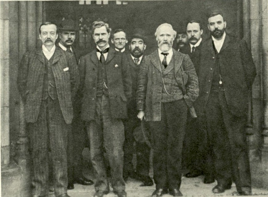 Labour Representation Committee leaders 1906