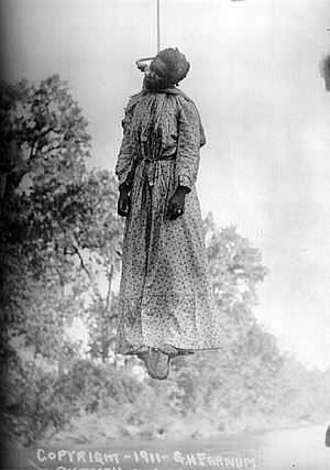 English: Lynching of Laura Nelson, Okemah, Okl...