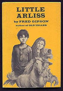 <i>Little Arliss</i> book by Fred Gipson