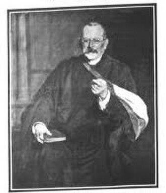 Louis Barnett Abrahams - Portrait of Louis Barnett Abrahams by Solomon J. Solomon, 1908
