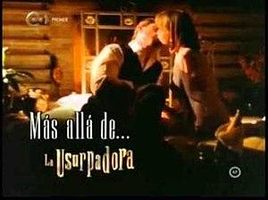 La usurpadora - Más Alla De La Usurpadora logo.