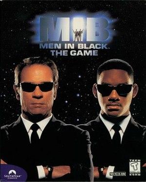 Men in Black: The Game - North American cover art (Windows version)