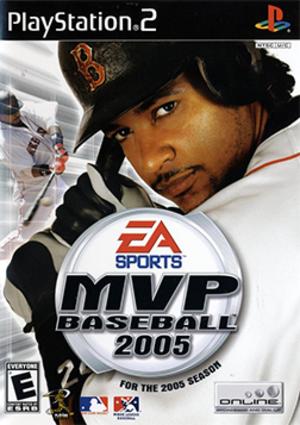 MVP Baseball 2005 - Image: MVP Baseball 2005 Coverart