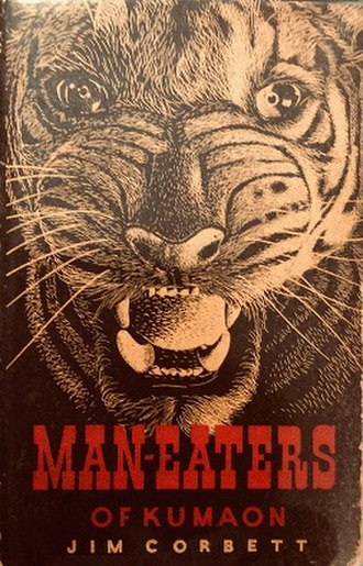 Man-Eaters of Kumaon - 1954 Edition published by Oxford University Press and Illustrated by Raymond Sheppard