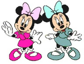 Mickey Mouse universe - Millie and Melody Mouse