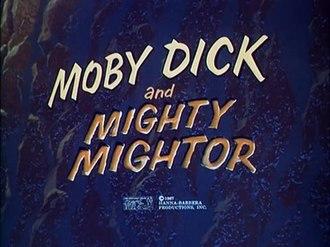 Moby Dick and Mighty Mightor - Moby Dick and Mighty Mightor title screen