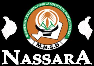 National Movement for the Development of Society - Image: Mouvement National de la Société de Développement Nassara (logo)