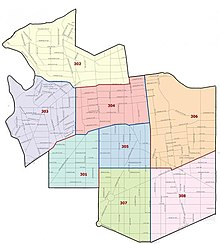Mpdc third district map