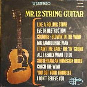 Mr. 12 String Guitar - Image: Mr. 12 String Guitar album cover