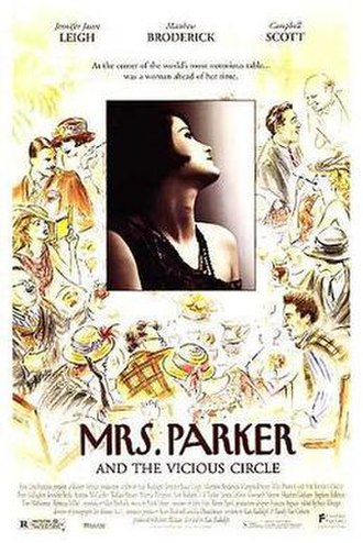 Mrs. Parker and the Vicious Circle - Theatrical release poster