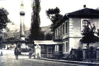 Timeline of Kosovo history - Mustafe Pashe Prizrenit