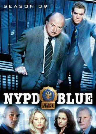 NYPD Blue (season 9) - Season 9 U.S. DVD Cover