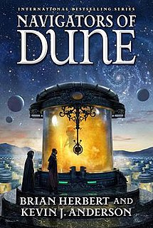 <i>Navigators of Dune</i> book by Brian Herbert and Kevin J. Anderson
