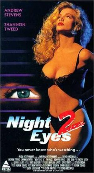 Night Eyes 2 - Film poster