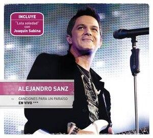 Canciones Para Un Paraíso En Vivo - Image: Paraíso En Vivo Cover