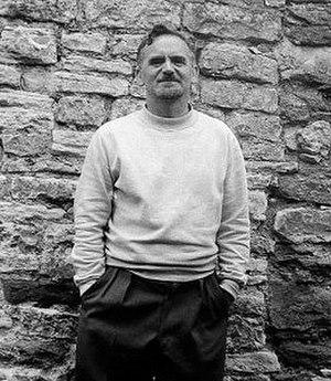 William Scott (artist) - William Scott in 1959 (during a visit by Mark Rothko photo by James Scott)