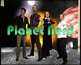 Planet Nerd - Image: Planet Nerd Logo