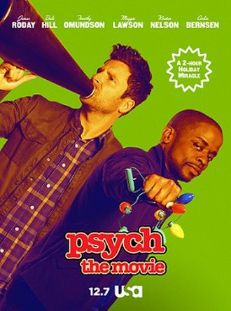 Psych: The Movie - Image: Psych The Movie Poster