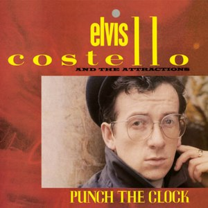 Punch the Clock - Image: Punch the Clock (Elvis Costello and the Attractions album cover art)