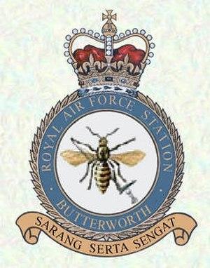 RMAF Butterworth - RAF Butterworth crest