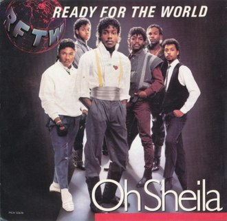 Ready for the World - Oh Sheila (studio acapella)